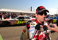 Oct 4, 2008; Talladega, AL, USA; NASCAR Sprint Cup Series driver Greg Biffle during qualifying for the Amp Energy 500 at the Talladega Superspeedway. Mandatory Credit: Mark J. Rebilas-