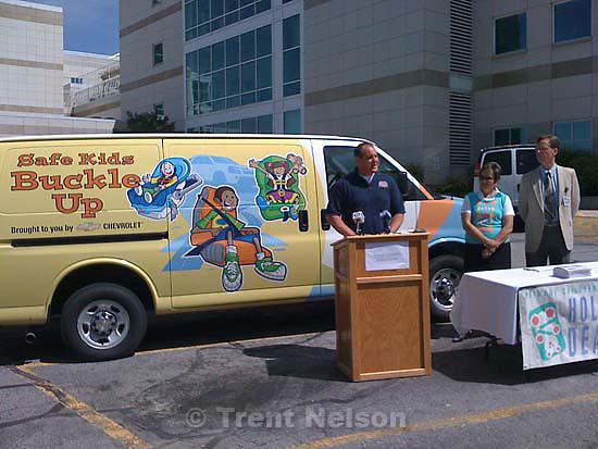 safe kids buckle up press conference