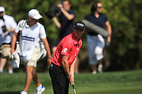 Rory McIlroy (NIR) in action during Sunday's Final Round of the 2012 Omega Dubai Desert Classic at Emirates Golf Club Majlis Course, Dubai, United Arab Emirates, 12th February 2012(Photo Eoin Clarke/www.golffile.ie)
