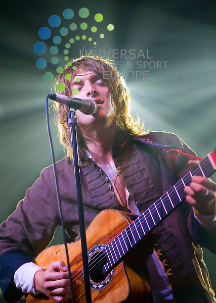 Paolo Nutini at the Corn Exchange, Edinburgh 2008..Picture:Peter Kaminski/Universal News and Sport (Scotland)