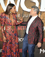 Naomie Harris and Andy Serkis at the &quot;Mowgli: Legend of the Jungle&quot; Netflix special screening, Curzon Mayfair, Curzon Street, London, England, UK, on Tuesday 04 December 2018. <br /> CAP/CAN<br /> &copy;CAN/Capital Pictures