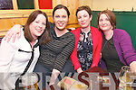 Debbie Scanlon, Marie Begley, Kate Devane and Fiona O'Connor at the 1997 Class Dingle Reunion at McCarthy's, Dingle, on Thursday night...