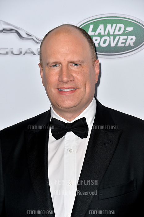 BEVERLY HILLS, CA. October 26, 2018: Kevin Feige at the 2018 British Academy Britannia Awards at the Beverly Hilton Hotel.<br /> Picture: Paul Smith/Featureflash