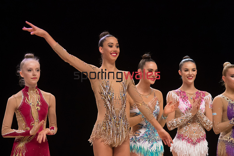 British Gymnastics Championship Series 2017<br /> Gemma Frizelle<br /> Liverpool Echo Arena<br /> ©Steve Pope <br /> Sportingwales