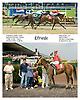 Elfriede winning at Delaware Park on 7/28/09