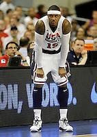 USA's Carmelo Anthony during friendly match.July 22,2012. (ALTERPHOTOS/Acero) /NortePhoto.com*<br /> **CREDITO*OBLIGATORIO** <br /> *No*Venta*A*Terceros*<br /> *No*Sale*So*third*<br /> *** No Se Permite Hacer Archivo**