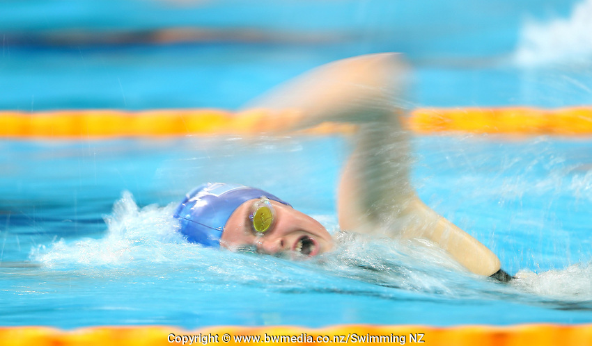 Caitlin Deans, 1500m Freestyle. New Zealand Short Course Swimming Championships, National Aquatic Centre, Auckland, New Zealand, Saturday 5th October 2019. Photo: Simon Watts/www.bwmedia.co.nz/SwimmingNZ
