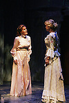 """Liz Keifer and Jenn Levy as Philipstown Depot Theatre presents The Secret Garden on November 15, 2009 in Garrison, New York. The musical The Secret Garden is the story of """"Mary Lennox"""", a rich spoiled child who finds herself suddenly an orphan when cholera wipes out the entire Indian village where she was living with her parents. She is sent to live in England with her only surviving relative, an uncle who has lived an unhappy life since the death of his wife 10 years ago. """"Archibald's son Colin"""", has been ignored by his father who sees Colin only as the cause of his wife's death.This is essentially the story of three lost, unhappy souls who, together, learn how to live again while bringing Colin's mother's garden back to life. (Photo by Sue Coflin/Max Photos)........"""