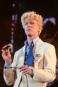 Jul 02, 1983: DAVID BOWIE - Serious Moonlight Tour Milton Keynes UK