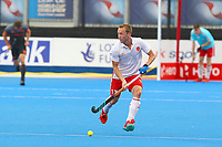 Barry Middleton of England during the Hockey World League Semi-Final match between England and Netherlands at the Olympic Park, London, England on 24 June 2017. Photo by Steve McCarthy.