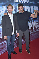 Ian Ziering und Paul Johansson at the premiere of SyFy TV-Film Zombie Tidal Wave at the Garland Hotel in Los Angeles, California August 12, 2019. Credit: Action Press/MediaPunch ***FOR USA ONLY***