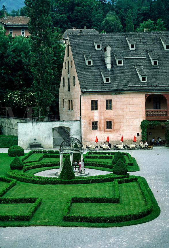 CASTLE with HEDGE GARDEN - INNSBROOK, AUSTRIA