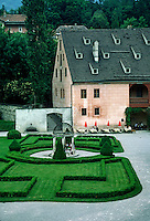 CASTLE with HEDGE GARDEN - INNSBROOK, AUSTRIA