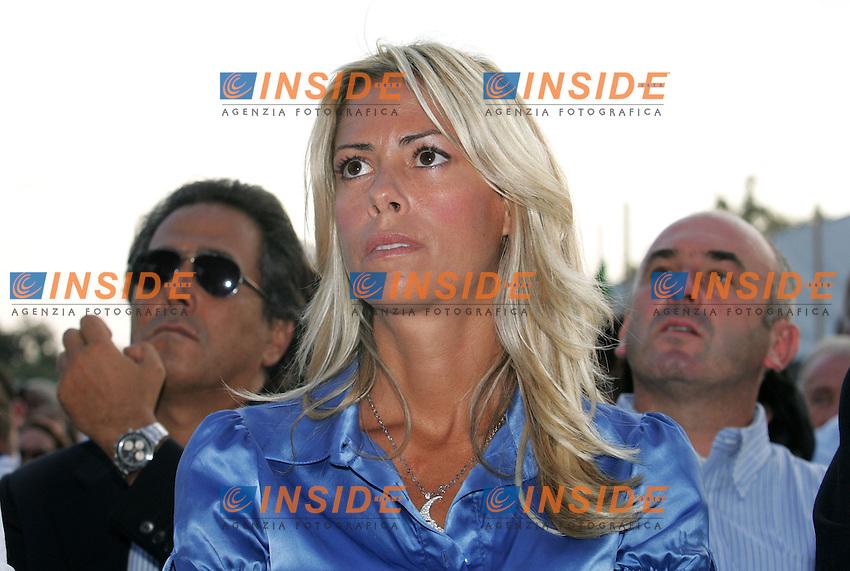 ELISABETTA TULLIANI<br /> Mirabello, Ferrara 05/09/2010 Festa di Futuro e Liberta'.<br /> Photo Zucchi Insidefoto