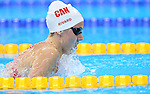 Rio de Janeiro-11/9/2016- Canadian swimmer  Benoit Huot competes in the men's 200m IM  finals at the Olympic Aquatic Centre during the 2016 Paralympic Games in Rio. Photo Scott Grant/Canadian Paralympic Committee