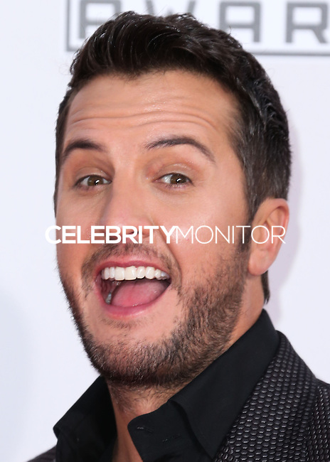 LOS ANGELES, CA, USA - NOVEMBER 23: Luke Bryan arrives at the 2014 American Music Awards held at Nokia Theatre L.A. Live on November 23, 2014 in Los Angeles, California, United States. (Photo by Xavier Collin/Celebrity Monitor)