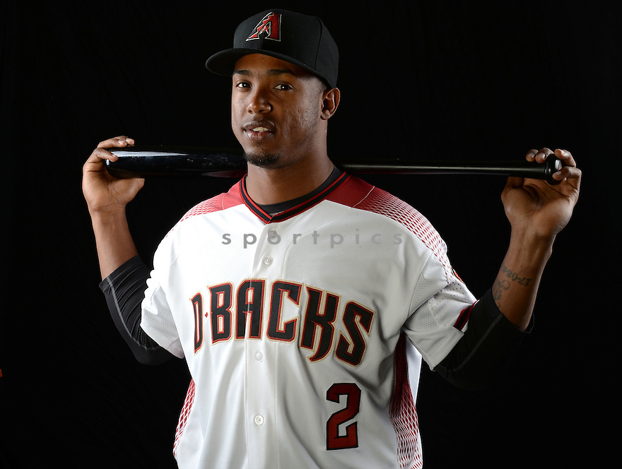 Arizona Diamondbacks Jean Segura (2) during photo day on February 28, 2016 in Scottsdale, AZ.