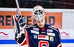 S&ouml;dert&auml;lje 2014-09-22 Ishockey Hockeyallsvenskan S&ouml;dert&auml;lje SK - IF Bj&ouml;rkl&ouml;ven :  <br /> S&ouml;dert&auml;ljes m&aring;lvakt Tim Sandberg ser nedst&auml;md ut<br /> (Foto: Kenta J&ouml;nsson) Nyckelord: Axa Sports Center Hockey Ishockey S&ouml;dert&auml;lje SK SSK Bj&ouml;rkl&ouml;ven L&ouml;ven IFB  portr&auml;tt portrait depp besviken besvikelse sorg ledsen deppig nedst&auml;md uppgiven sad disappointment disappointed dejected