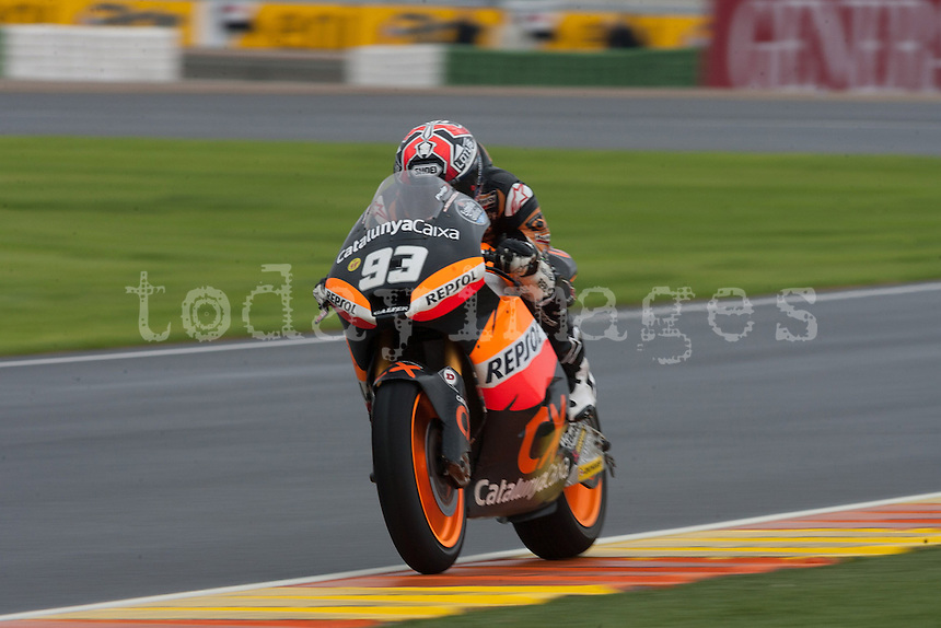 Marc Marquez winner and world champion of Moto 2 2012