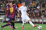 21.04.2015 Barceloona. UEFA Champions League, Quarter-finals 2nd leg. Picture show Marco Verratti in action during game between FC Barcelona against Paris Saint-Germain at Camp Nou