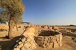 Israel, Arava, remains of Israelite fortresses at Ein Hatzeva, site of biblical Tamar, the water well