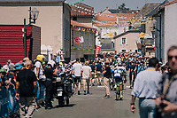 start paddock area 15 minutes before the start<br /> <br /> Stage 2: Mouilleron-Saint-Germain > La Roche-sur-Yon (183km)<br /> <br /> Le Grand Départ 2018<br /> 105th Tour de France 2018<br /> ©kramon