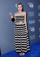 11 January 2018 - Santa Monica, California - Margot Robbie. 23rd Annual Critics' Choice Awards held at Barker Hangar. <br /> CAP/ADM/BT<br /> &copy;BT/ADM/Capital Pictures