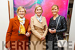 Ina Mulhall with Miriam Mulhall-Nolan and Trish Mulhall attending  the Presentation Primary School Junk Kouture Fashion Show in the Rose Hotel on Thursday night