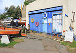 Andy Seedhouse boat yard sales, Woodbridge, Suffolk, England, UK