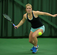 Rotterdam, The Netherlands, March 18, 2016,  TV Victoria, NOJK 14/18 years, Shurha Poppe (NED)<br /> Photo: Tennisimages/Henk Koster
