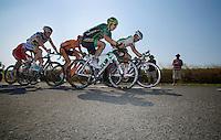Jérôme Cousin (FRA) in the escape group<br /> <br /> stage 10: Saint-Gildas-des-Bois to Saint-Malo<br /> 197km