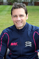 Middlesex batting coach Mark Ramprakash - Middlesex County Cricket Club Press Day at Lords Cricket Ground, London - 08/04/13 - MANDATORY CREDIT: Rob Newell/TGSPHOTO - Self billing applies where appropriate - 0845 094 6026 - contact@tgsphoto.co.uk - NO UNPAID USE.