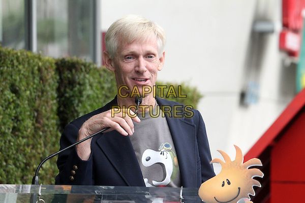 HOLLYWOOD, CA - NOVEMBER 2: Craig Schulz at the Snoopy Star on the Hollywood Walk of Fame ceremony in Hollywood, California on November 2, 2015. <br /> CAP/MPI//DE<br /> &copy;DE/MPI/Capital Pictures