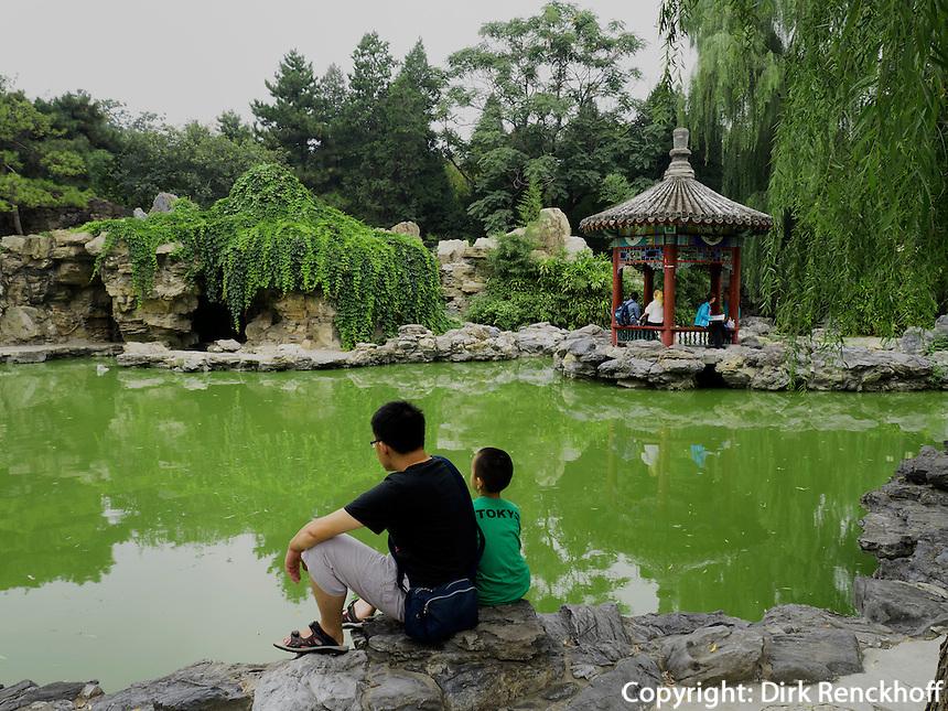 Im RiTan-Park in Peking, China, Asien<br /> inside Ri Tan Park, Beijing, China, Asia