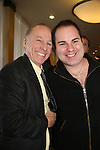 Kenneth Del Vecchio (R) poses with Jackie Martling, new spokesperson & host of the Hoboken International Film Festival and the new indie film An Affirmative Act! - a groundbreaking gay marriage courtroom drama on January 21, 2010 at the Marriott Saddle Brook, Saddle Brook, NJ. (Photo by Sue Coflin/Max Photos)