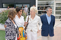 """Sylvie Pras, Leila Bekhti, Tonie Marshall and Tim Roth attending the """"Jury Un Certain Regard"""" Photocall during the 65th annual International Cannes Film Festival in Cannes, France, 19th May 2012...Credit: Timm/face to face /MediaPunch Inc. ***FOR USA ONLY***"""