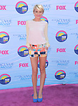 Chelsea Kane at FOX's 2012 Teen Choice Awards held at The Gibson Ampitheatre in Universal City, California on July 22,2012                                                                               © 2012 Hollywood Press Agency