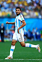Ezequiel Garay (ARG), JULY 1, 2014 - Football / Soccer : FIFA World Cup Brazil 2014 Round of 16 match between Argentina 1-0 Switzerland at Arena de Sao Paulo in Sao Paulo, Brazil. (Photo by D.Nakashima/AFLO)