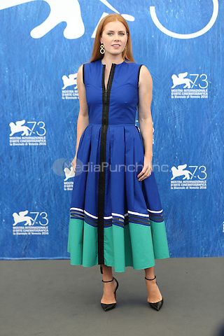 Amy Adams attends a press conference for 'Arrival' during the 73rd Venice Film Festival at Palazzo del Casino on September 1, 2016 in Venice, Italy.<br /> CAP/GOL<br /> &copy;GOL/Capital Pictures/MediaPunch ***NORTH AND SOUTH AMERICA ONLY***