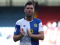 Blackburn Rovers' Elliott Ward looks dejected at the end of todays match<br /> <br /> Photographer Rachel Holborn/CameraSport<br /> <br /> The EFL Sky Bet League One - Blackburn Rovers v Doncaster Rovers - Saturday August 12th 2017 - Ewood Park - Blackburn<br /> <br /> World Copyright &copy; 2017 CameraSport. All rights reserved. 43 Linden Ave. Countesthorpe. Leicester. England. LE8 5PG - Tel: +44 (0) 116 277 4147 - admin@camerasport.com - www.camerasport.com