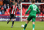 Richard Stearman of Sheffield Utd during the championship match at the Bramall Lane Stadium, Sheffield. Picture date 28th April 2018. Picture credit should read: Simon Bellis/Sportimage