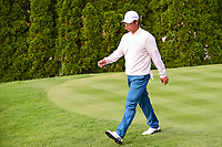 Hideki Matsuyama (JPN) departs the 4th tee during round 3 Four-Ball of the 2017 President's Cup, Liberty National Golf Club, Jersey City, New Jersey, USA. 9/30/2017.<br /> Picture: Golffile | Ken Murray<br /> <br /> All photo usage must carry mandatory copyright credit (&copy; Golffile | Ken Murray)