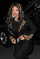 La Toya Jackson out and about in New York City