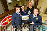 Cremur Heating Rock Street launching new website. Pictured William Kirby, Darragh Crean,Kieran Donaghy and Nessan Crean,