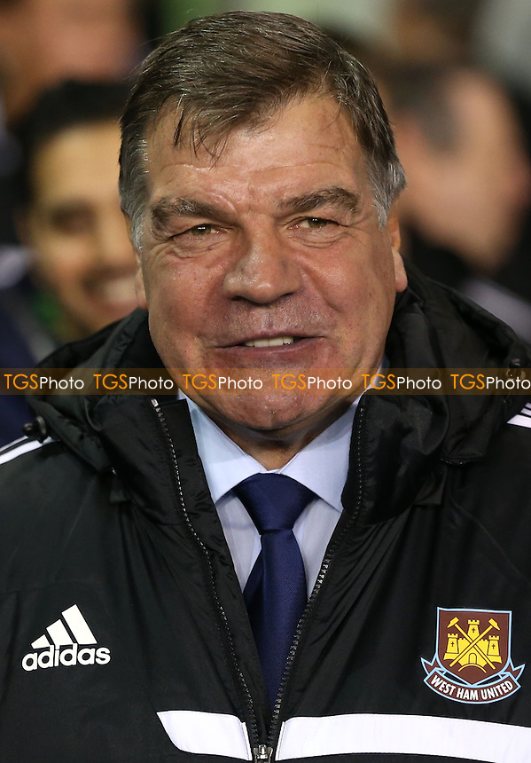 West Ham manager Sam Allardyce - Tottenham Hotspur vs West Ham United, Capital One Cup Quarter Final at White Hart Lane, Tottenham - 18/12/13 - MANDATORY CREDIT: Rob Newell/TGSPHOTO - Self billing applies where appropriate - 0845 094 6026 - contact@tgsphoto.co.uk - NO UNPAID USE