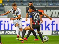 v.l. Luca Waldschmidt (SC Freiburg), Makoto Hasebe (Eintracht Frankfurt)<br />  - 26.05.2020 Fussball 1.Bundesliga Spieltag 28, Eintracht Frankfurt  - SC Freiburg emspor, <br /> <br /> Foto: Jan Huebner/Pool/ Via Marc Schueler/Sportpics.de<br /> (DFL/DFB REGULATIONS PROHIBIT ANY USE OF PHOTOGRAPHS as IMAGE SEQUENCES and/or QUASI-VIDEO), Editorial use only. National and International News Agencies OUT
