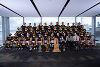 DB Breweries sponsors. The 2019 Wellington Lions Mitre 10 Cup rugby team photo at Westpac Stadium in Wellington, New Zealand on Friday, 11 October 2019. Photo: Dave Lintott / lintottphoto.co.nz