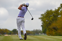 Billy Horschel (USA) watches his tee shot on 2 during day 1 of the Valero Texas Open, at the TPC San Antonio Oaks Course, San Antonio, Texas, USA. 4/4/2019.<br /> Picture: Golffile   Ken Murray<br /> <br /> <br /> All photo usage must carry mandatory copyright credit (&copy; Golffile   Ken Murray)
