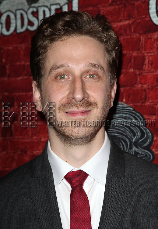 Director Daniel Goldstein.attending the Opening Night Performance After Party for the Broadway Revival of 'Godspell' at Planet Hollywood in New York City.