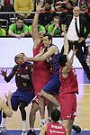 18.02.2012. Palau St. Jordi , Barcelona. Copa del Rey Semifinales. Partido entre el FCB Barcelona y el Caja Laboral